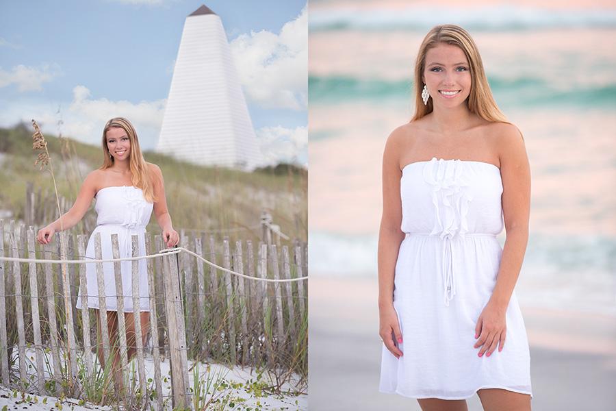 Senior Portraits At The Beach Ii Gulf