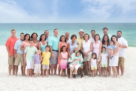 Beach - Large Group Portraits
