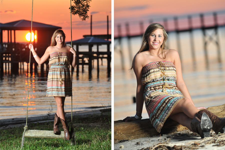 Senior Portrait Collection Ii Gulf Shores Photographer
