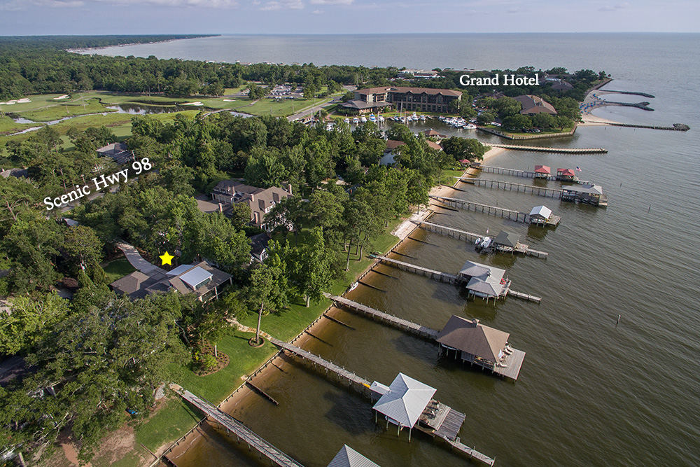 fairhope alabama aerial photographer