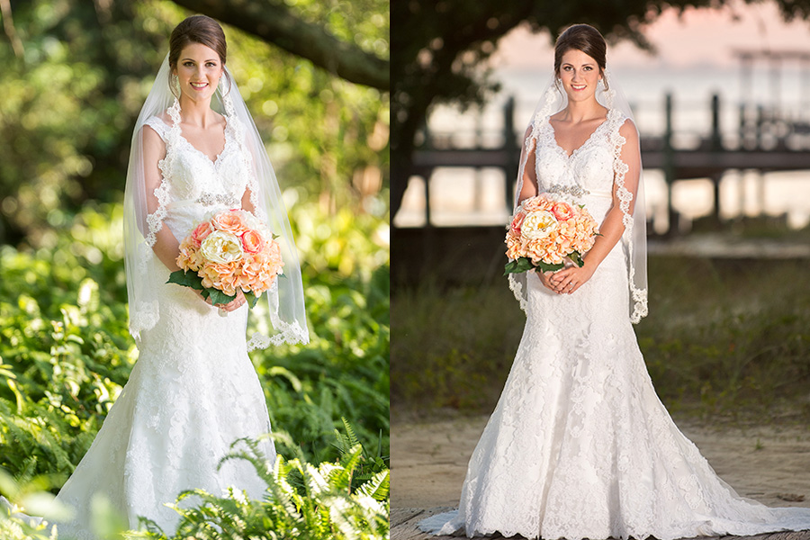 Fairhope bridal portrait grand hotel point clear