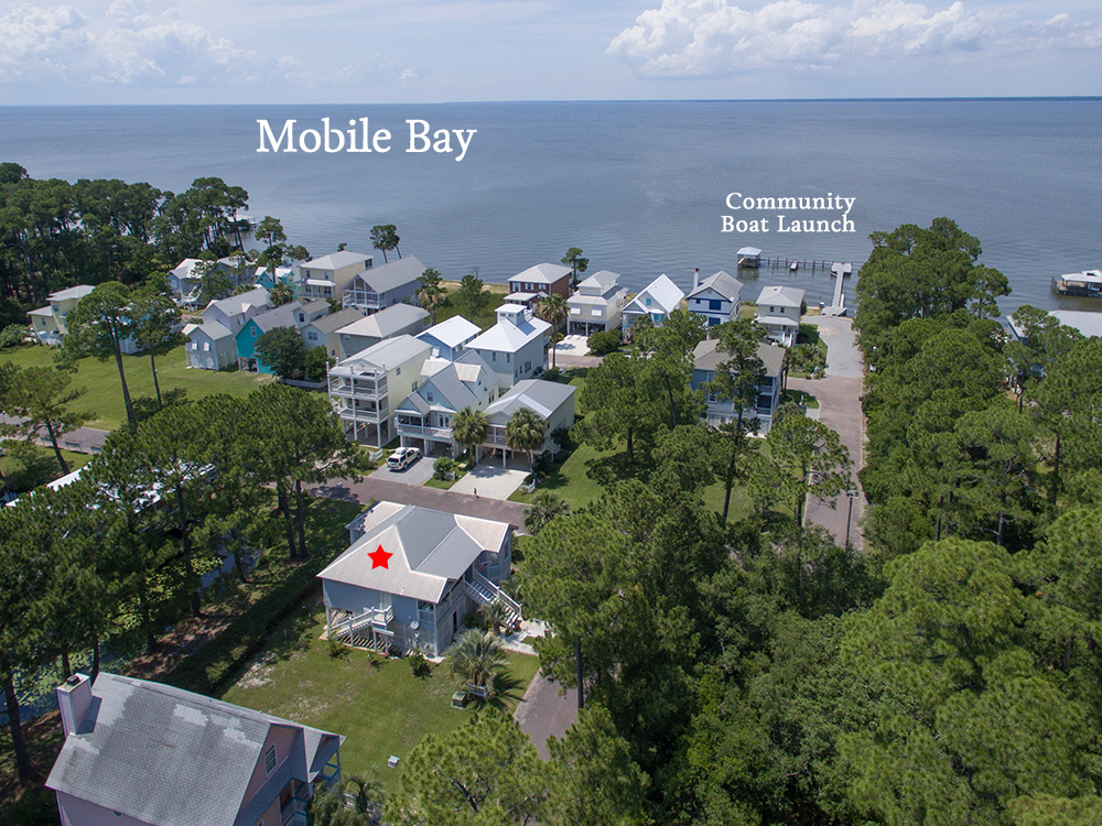 gulf shores aerial real estate photos