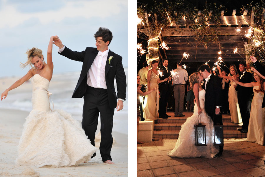 Beach club alabama wedding