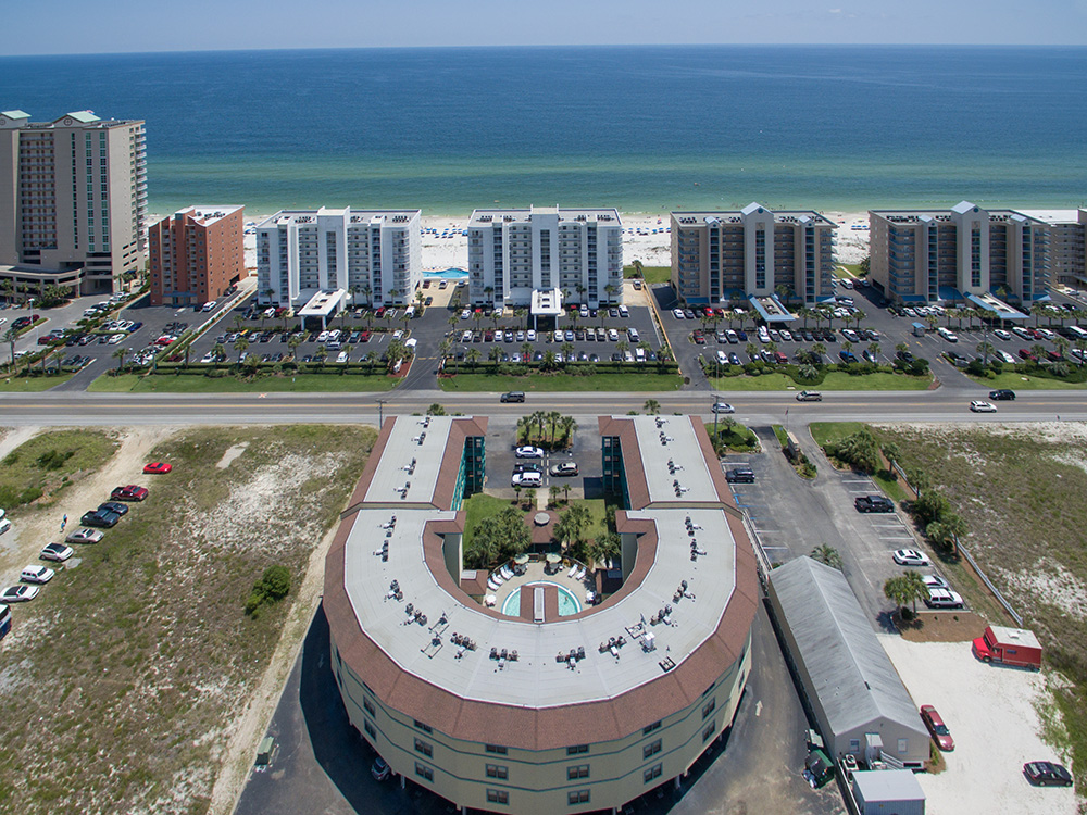 orange beach aerial photographer